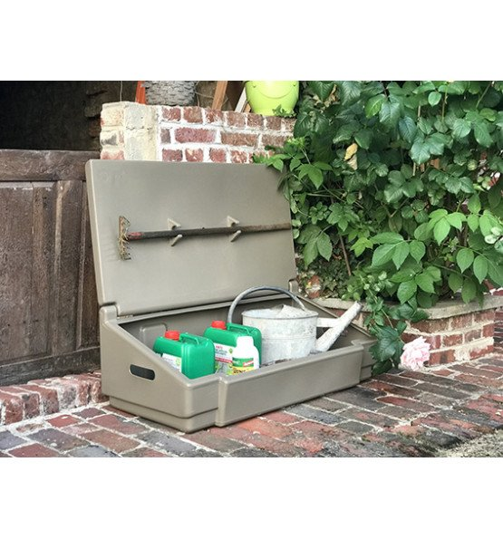 50L GARDEN BOX FOR STORAGE AND STOWAGE